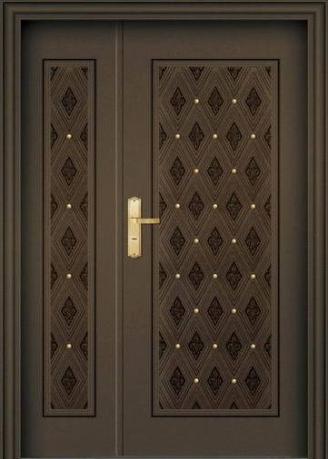 железная дверь дизайнерская
